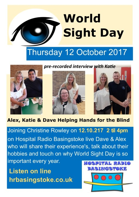 Flyer World Sight Day 2017