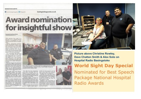 Press Cover World Sight Day