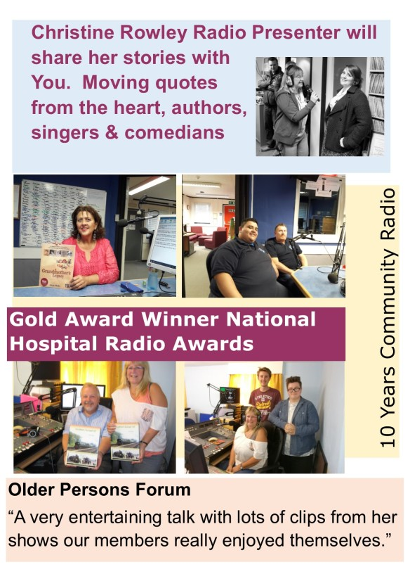 Community Radio Talk Flyer