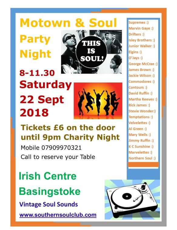 Irish Centre Basingstoke 22 Sept 2018