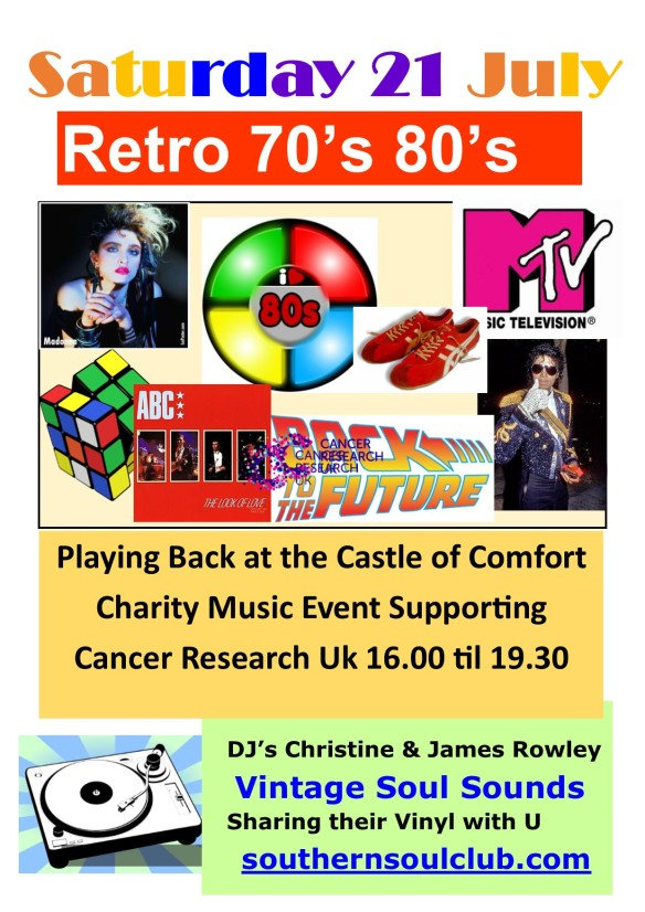 Retro 80's Castle of Comfort Medstead