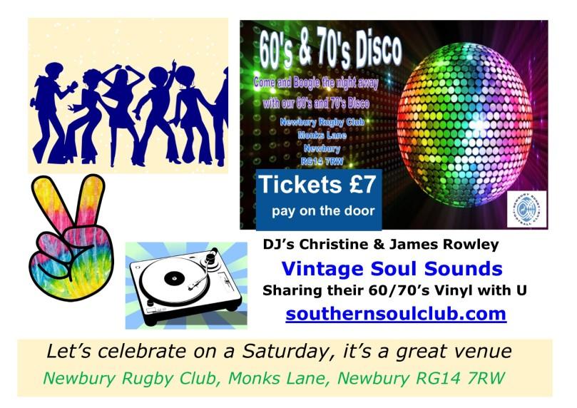 60's 70's Disco Newbury | Southernsoulclub