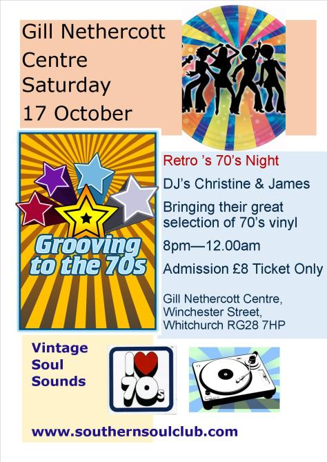 Gill Nethercott Centre 17 Oct